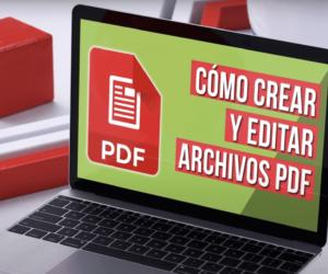 cómo crear un archivo pdf