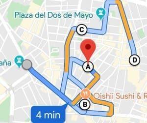 crear rutas en google maps