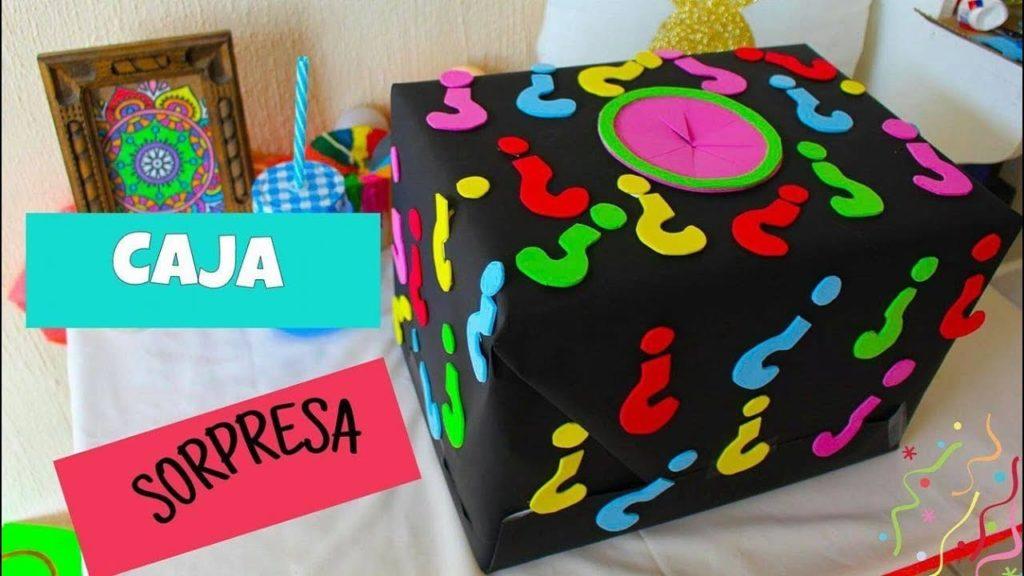como crear una caja sorpresa