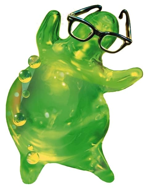 personaje de flubber